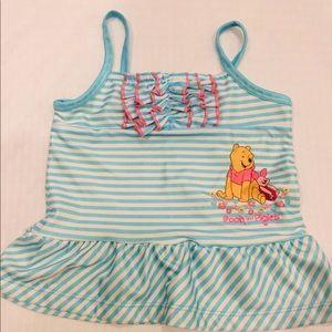 Disney Pooh swim top